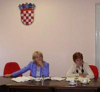 Tajnica Gorenka Bulj i glavna državna rizničarka Vesna Vašiček