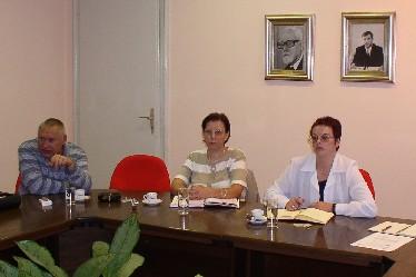 Nenad Vuković iz Pravne službe Sindikata i predstavnice Odbora carine i Odbora porezne uprave Sindikata Jadranka Posavec i Snježana Mesek