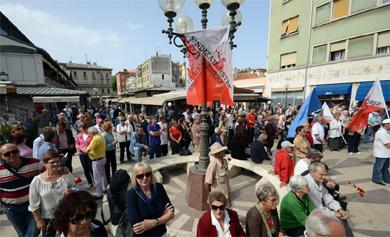 GLAS ISTRE o proslavi 1. svibnja u Puli