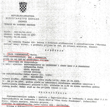 """Prema rješenju starog brigadira kći zaposlena je na """"slobodno"""" radno mjesto knjižničara na kojem i danas radi Nedjeljka Jurjević"""