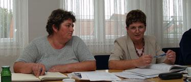 Biserka Tisaj i Biserka Begić, nova i dosadašnja županijska povjerenica