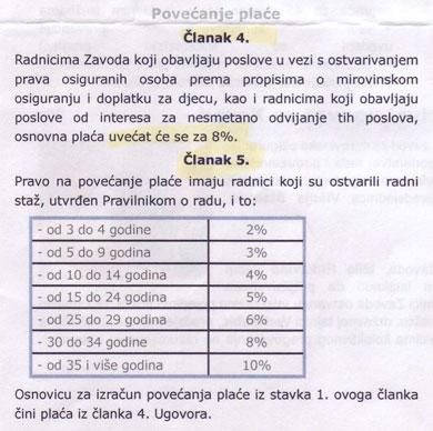HZMO: Kolektivnim ugovorom dogovoren rast plaća za sve zaposlene od 8%