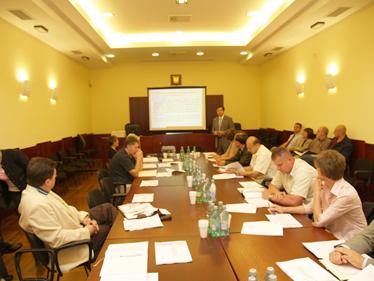Ravnatelj Damjanović na jednoj od brojnih prezentacija o stanju u zatvorskom sustavu za predstavnike sindikata