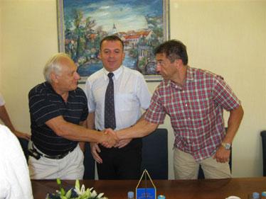 Potpisivanju kolektivnog ugovora nazočio je i potpredsjednik Hrvatskog sabora i Gospićanin Darko Milinović