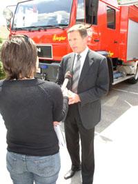 Glavni vatrogasni zapovjednik Mladen Jurin podržao je inicijativu SDLSN za donošenjem koeficijenata i dodataka za uvjete rada profesionalnih vatrogasaca