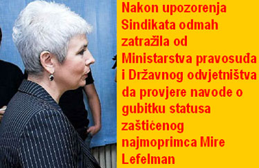 Potpredsjednica Vlade Jadranka Kosor ponovno je pokazala da kad su u pitanju osobe s invaliditetom ništa ne prepušta slučaju