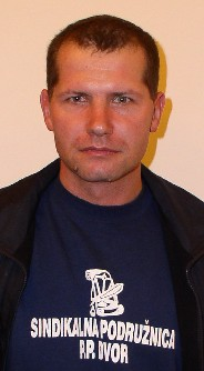 Boris Lovrenčić - sindikalni povjerenik u Policijskoj postaji Dvor