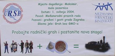 URSH i NHS sa svoja brojna dva plakata pozivali su građane u Maksimir već od 30. travnja...