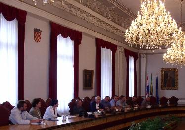Sjednica Županijskog povjereništva, 5. rujna 2003.