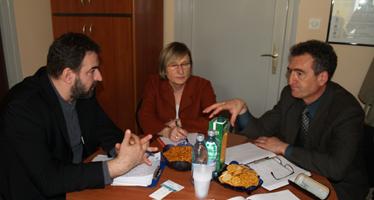 Anke Freibert iz SIGME u razgovoru s predstavnicima SDLSN