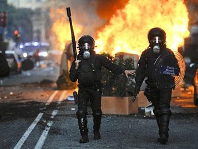 Spain_Riots_General_Strike_