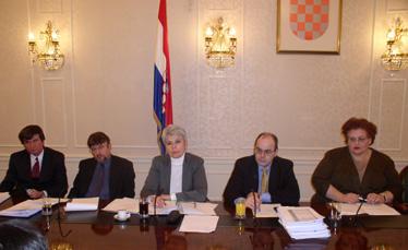 Voditeljica pregovaračkog odbora Vlade Jadranka Kosor