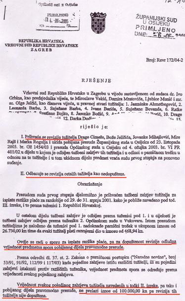 Ovako izgleda jednakost hrvatskih građana pred zakonom u hrvatskom pravosuđu