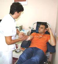 Dražen Vračić krv je darivao prvi puta