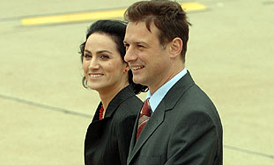 Državna tajnica B. Matković i ministar G. Jandroković