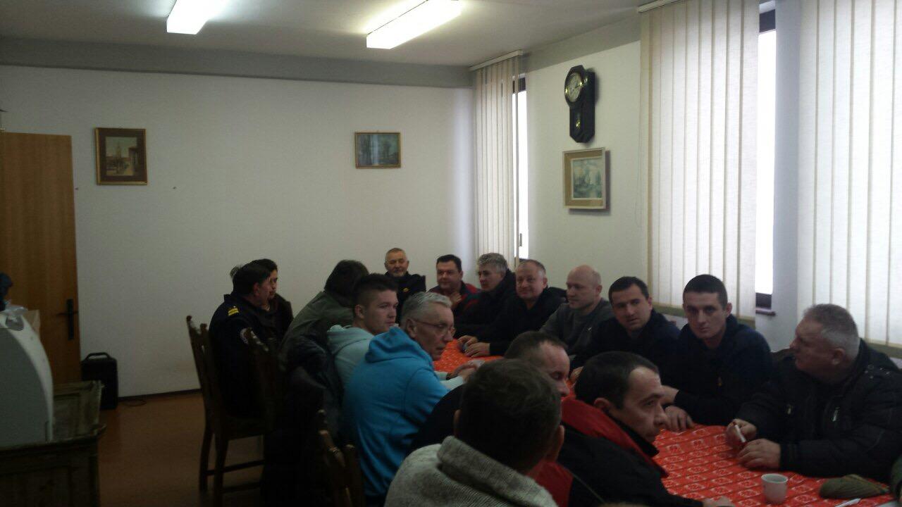 Osnovana sindikalna podružnica JVP Križevci