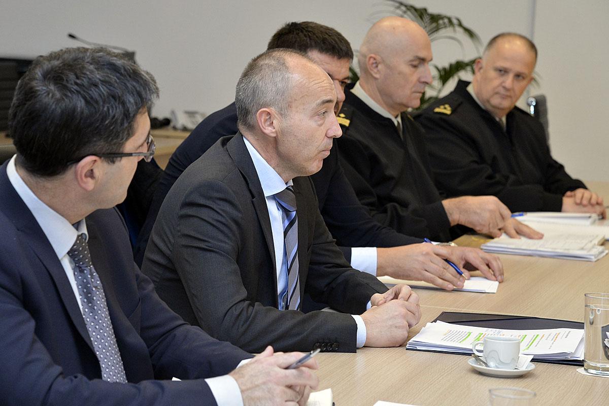 Sastanak ministra Krstičevića s predstavnicima Sindikata u MORH-u