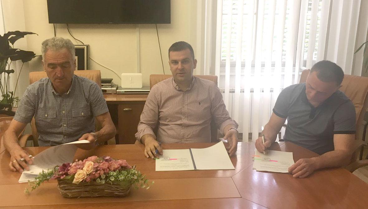 Potpisan Kolektivni ugovor za službenike i namještenike u upravnim tijelima Grada Bjelovara