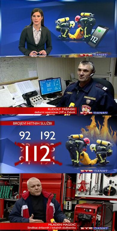 RTL Danas o borbi vatrogasaca za očuvanje broja 93