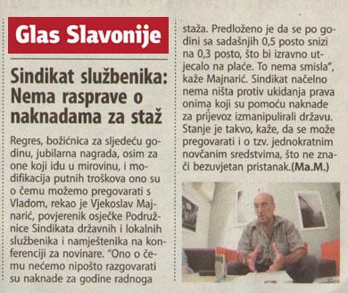 Prenosimo iz Glasa Slavonije