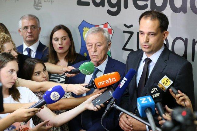 Ministar Malenica sa županom Kožićem o preuzimanju poslova državne uprave