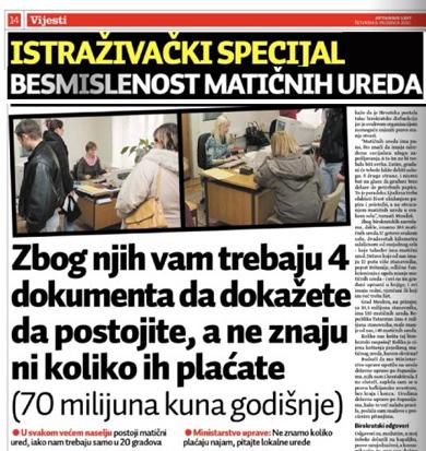 Matičari Zagrebačke županije reagirali na tekst objavljen u Jutarnjem listu