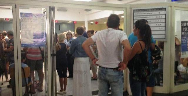 Građani Rijeke dokumente MUP-a čekaju u sauni