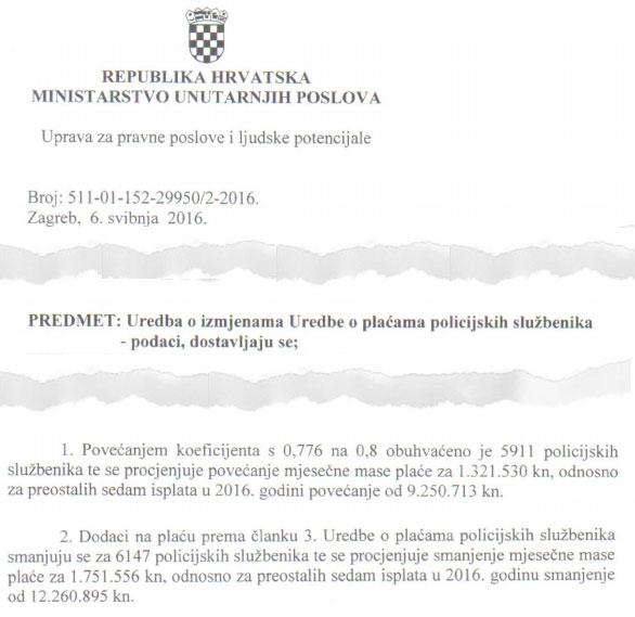 Orepić obmanjuje javnost i vrijeđa službenike kojima je smanjio plaću