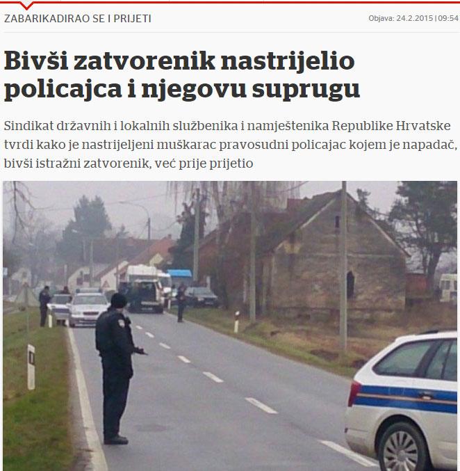 SDLSN traži istragu ranjavanja pravosudnog policajca