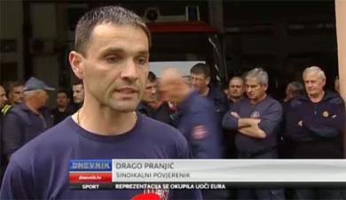 Nevjerojatno: Osječkim vatrogascima smanjili plaće za 800 kuna
