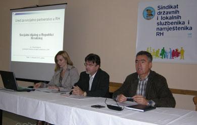 OSIJEK: Seminar o socijalnom partnerstvu za povjerenike sindikata