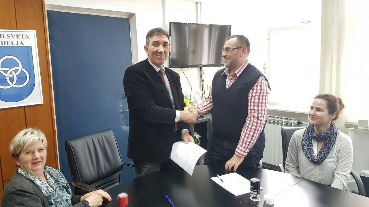 Potpisan Kolektivni ugovor za zaposlenike Grada Slatine