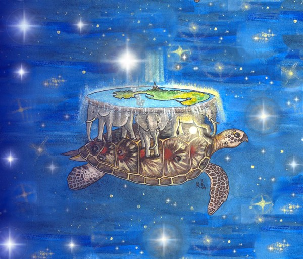 turtle-with-world
