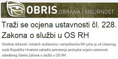 Prenosimo s portala OBRIS