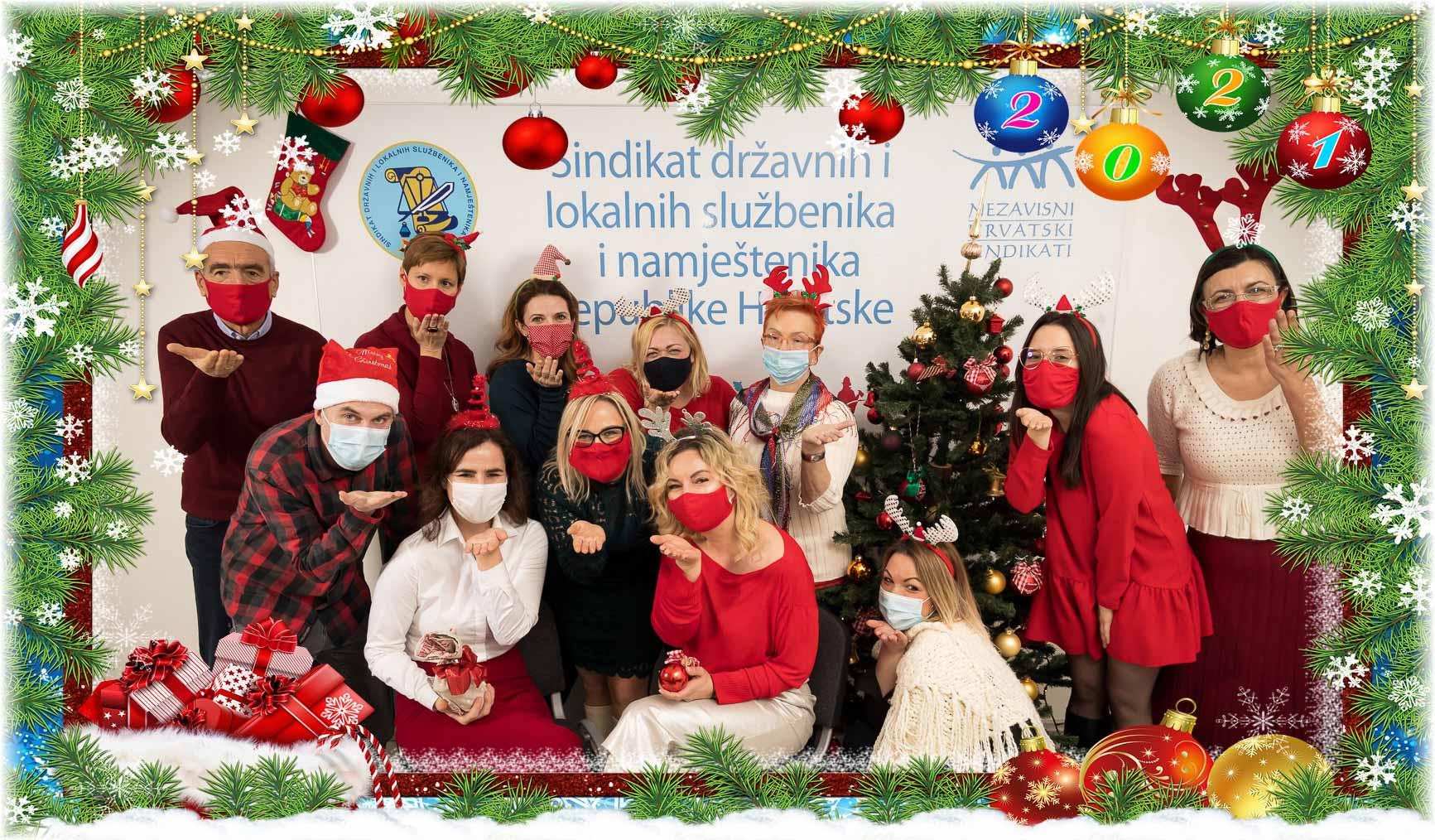 Sretan Božić i Novu 2021 želi Vam SDLSN!