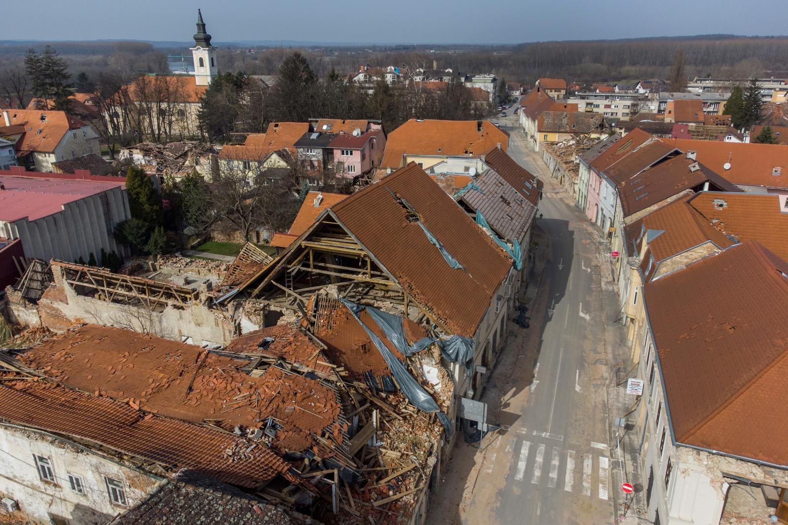 Isplata materijalne pomoći članicama i članovima stradalima u potresu