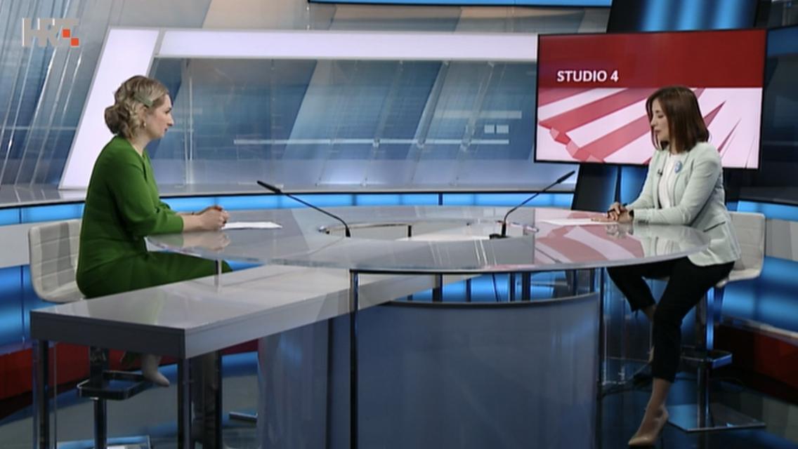 U emisiji HTV-a Studio 4 o zaštiti na radu i prevenciji zdravstvenih problema