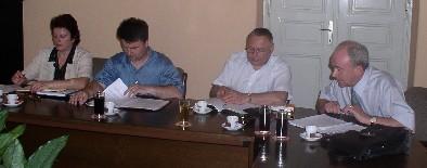 Predstavnici Odbora porezne uprave SDLSN i Nenad Vuković, pravnik Sindikata
