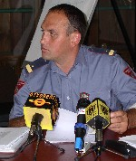Goran Franković, predsjednik Udruge profesionalnih vatrogasaca