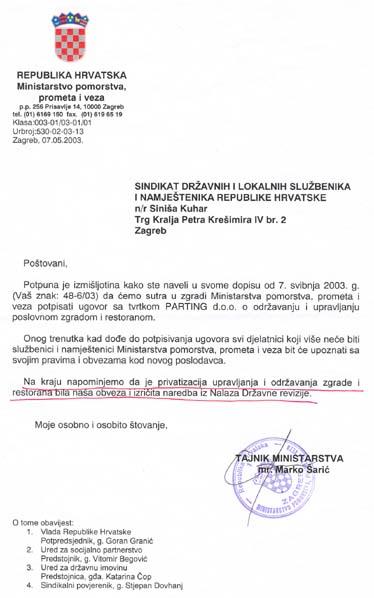 Marko Šarić obmanuo je Sindikat, građane koje zastupa i državna tijela