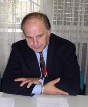Voditelj ekspertnog tima CARDS 2001 - Projekt reforme javne uprave Tullio Morganti