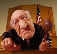 Imaš malu plaću. Marš van iz sudnice!