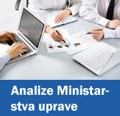 Analize Ministarstva uprave