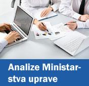 Analize Ministarstva uprave
