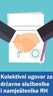 Kolektivni ugovor za državne službenike i namještenike od 9. studenoga 2017. godine
