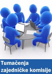 Tumačenja zajedničke komisije
